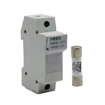 Fusible 12a 1000v con portafusible gpv