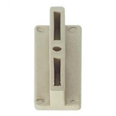 Clip con tornillo ecodeck marfil
