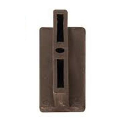 Clip con tornillo ecodeck chocolate