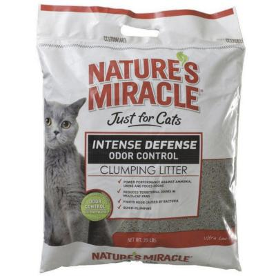 Arena para gatos control de olores 9 kg