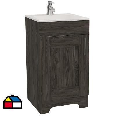 Mueble lavamanos barcelona coñac