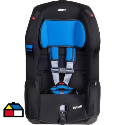 Silla de auto butaca azul