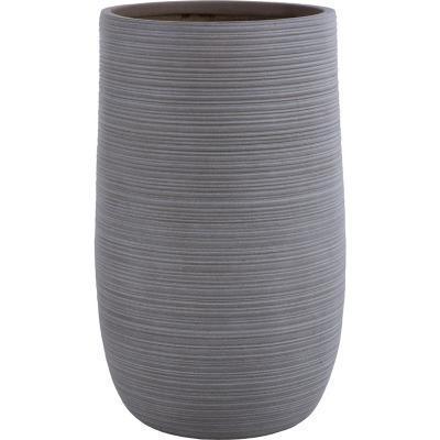 Macetero fibra tall sand 39x64 cm