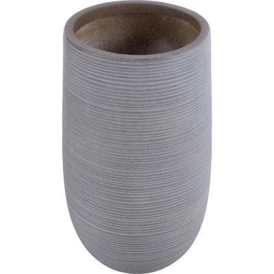 Macetero fibra tall taupe 30x50 cm