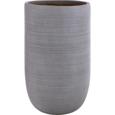 Macetero fibra tall sand 49x80 cm