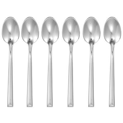 Set cucharas acero inoxidable 6 unidades