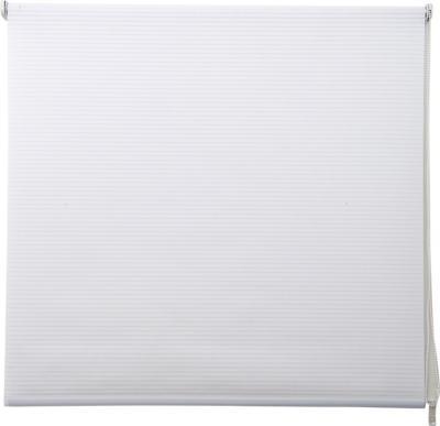 Cortina enrollable Stripes 100x100 cm blanca