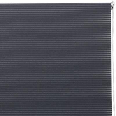 Cortina enrollable Stripes 100x100 cm gris