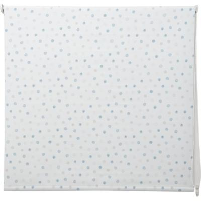 Cortina black-out Blue Dots 100x100 cm azul