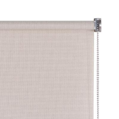 Cortina enrollable de tela premium 80x165 cm natural