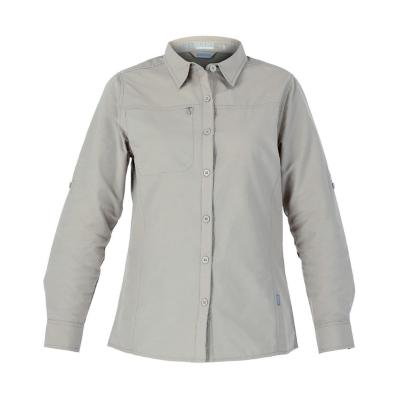 Camisa duckdry mujer beige xs