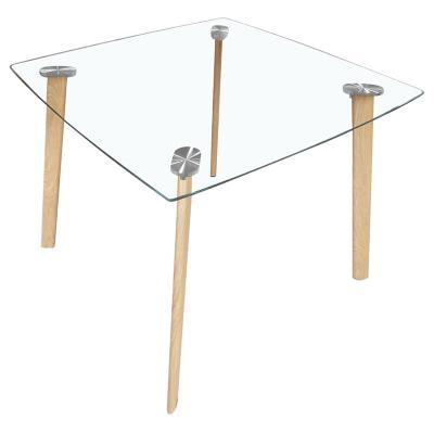 Mesa de comedor cuadrada 90x90 cm
