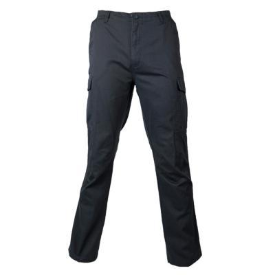 Pantalón cargo gabardina algodón gris 48