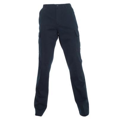 Pantalón cargo gabardina algodón azul marino 46