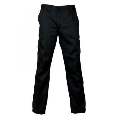 Pantalón cargo twill negro XXL