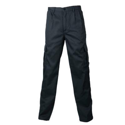 Pantalón cargo forro polar gris 40