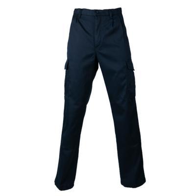 Pantalón cargo forro polar azul marino 48