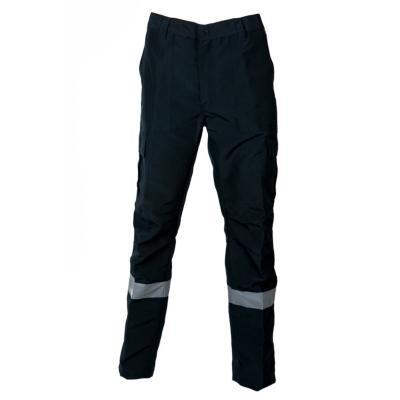 Pantalón cargo poplin reflect azul marino L