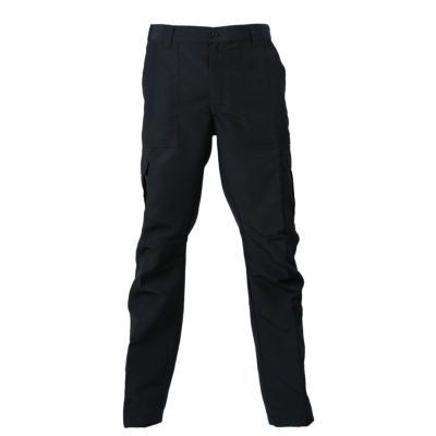 Pantalón cargo poplin negro XL
