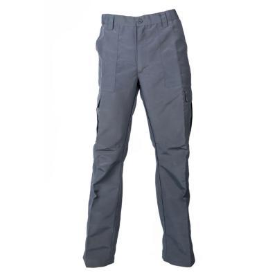 Pantalón cargo poplin gris medio S