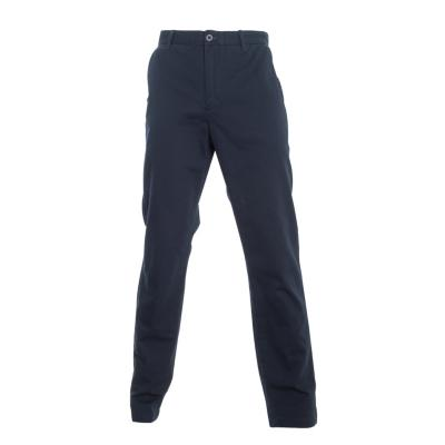 Pantalón gabardina algodón sin pinzas melange medio 42