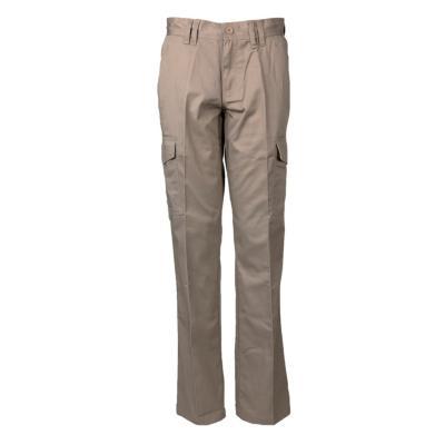 Pantalón cargo gabardina T/C mujer beige 42
