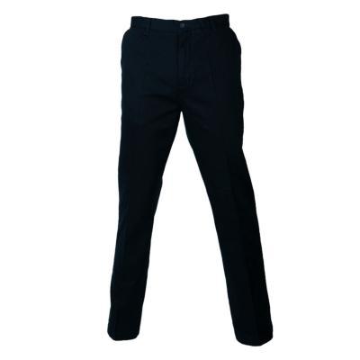 Pantalón gabardina algodón sin pinzas azul marino 44