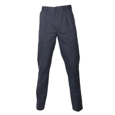 Pantalón gabardina algodón con pinzas melange medio 40