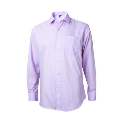 Camisa trevira comfort lila 42