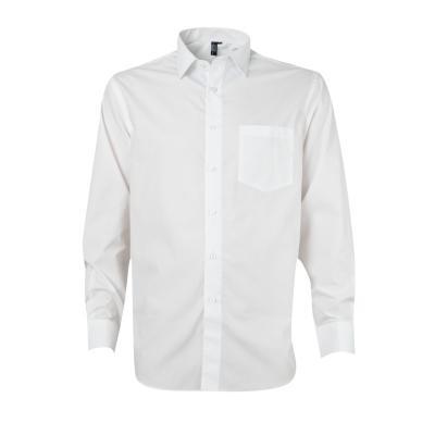Camisa trevira comfort manga larga blanco 41