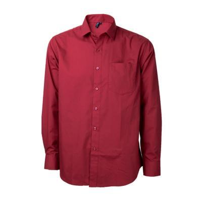 Camisa trevira comfort rojo 44