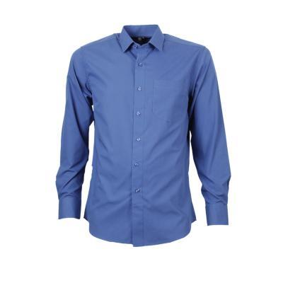 Camisa trevira comfort azul rey 37