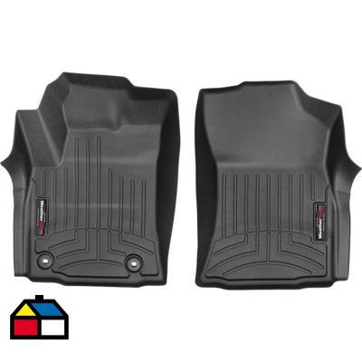 Pisos calce perfecto DEL 2 piezas Toyota Hilux CD 15-19
