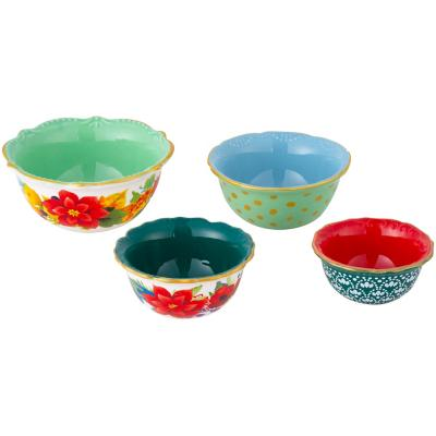 Set de 4 bowls diseño surtido
