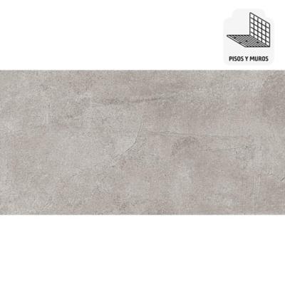 Porcelanato español 30x60 1,26 m2 gris