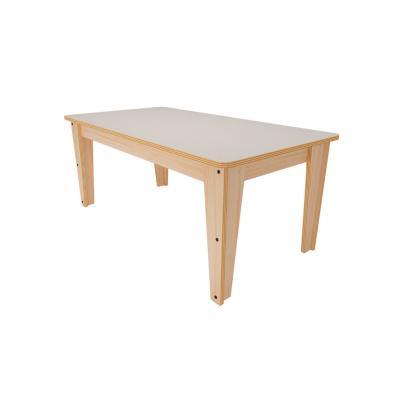Mesa infantil madera nórdica 57x57x90 cm