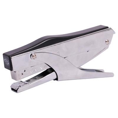 Corchetera caiman metal plateada