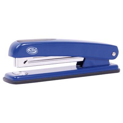Corchetera metal azul