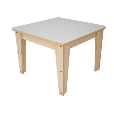 Mesa infantil nórdica madera 51x60x60 cm
