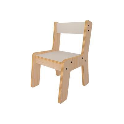 Silla infantil nórdica madera 49x30,6x36 cm