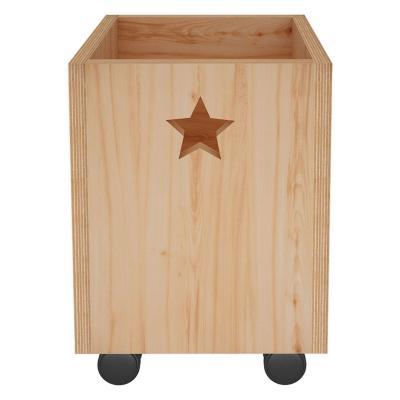 Caja organizadora 30x30cm infantil estrellas