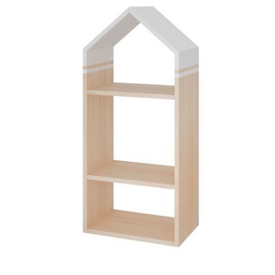Repisa niño 3 divisiones diseño casita
