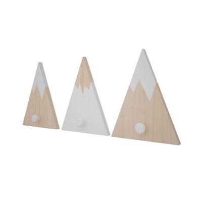 Perchero madera diseño andes