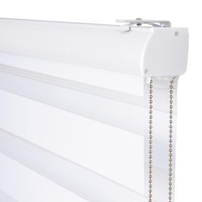 Cortina enrollable duo 90x165 cm Blanco
