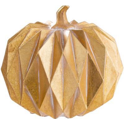 Figura cabezcalabaza geometrica, diametro 17 cm