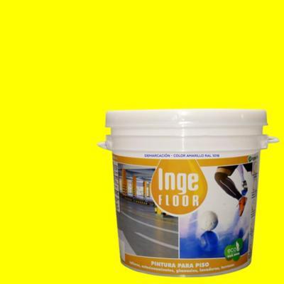 Pintura demarcación base agua 1 gl amarillo