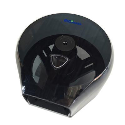 Dispensador papel higiénico jumbo acrílico negro