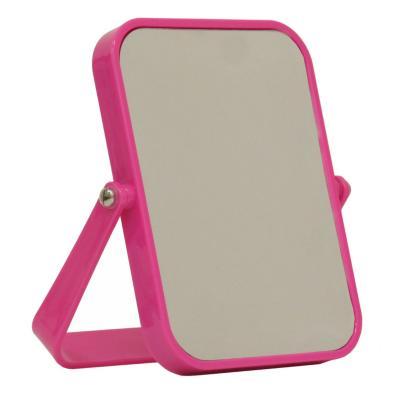 Espejo plástico 13x18 cm rosado