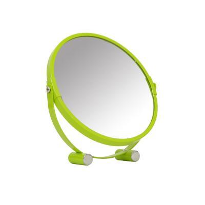 Espejo plástico 18x19 cm verde