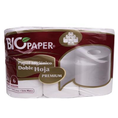 Papel higiénico premiun 48 rollos x 30 mts